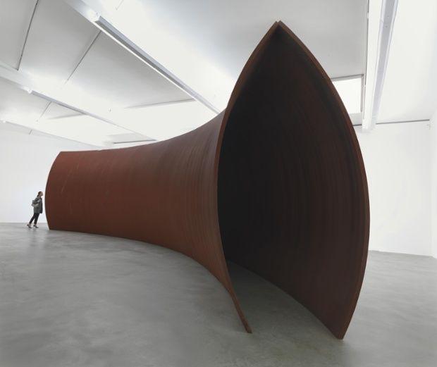 Richard Serra Backdoor Pipeline