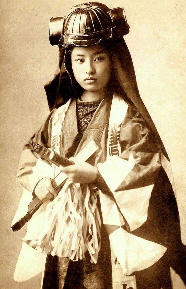 Nakano Takeko was a Japanese female warrior of the Aizu domain, who fought and died during the Boshin War.