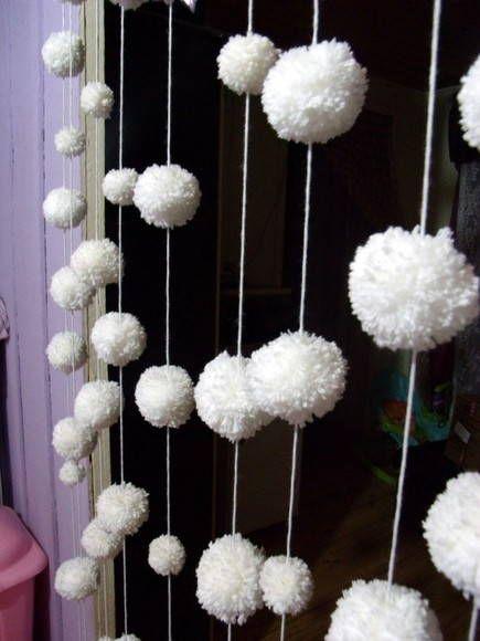 17 melhores ideias sobre Cortinas De Pompom no Pinterest ...