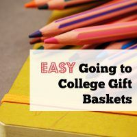Easy Going to College Gift Baskets