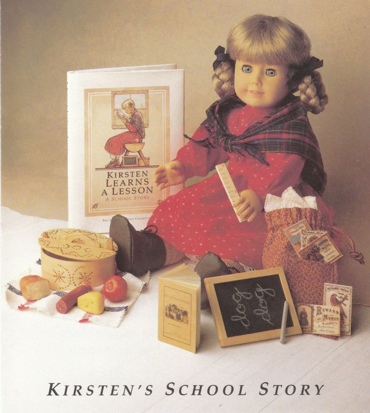 Retired American Girl Kristen - no longer available for purchase school