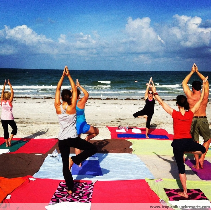 44 best beach yoga 2013 images on pinterest beach yoga for Best tropical beach vacations