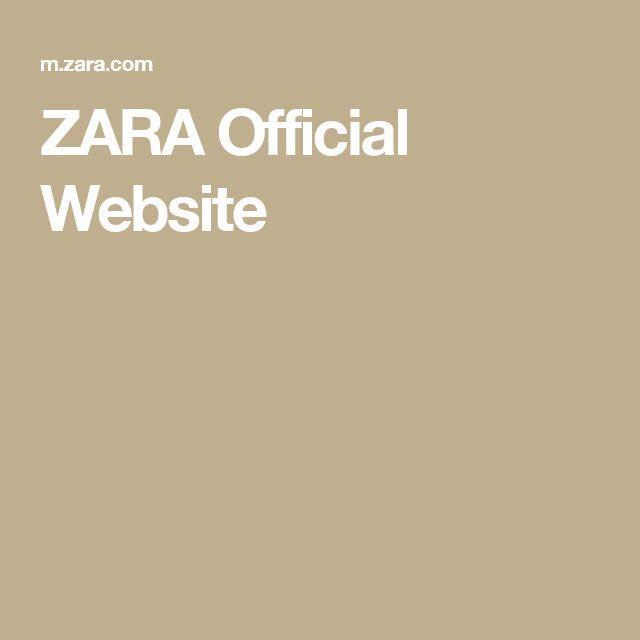 ZARA Official Website