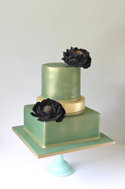 Vintage Green by Little Boutique Bakery