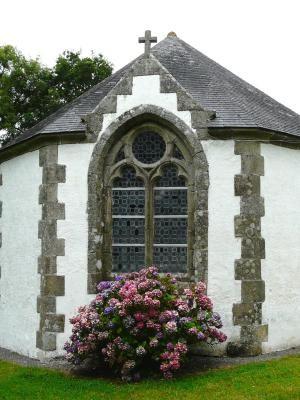 La chapelle Sainte-Marguerite à Riec-sur-Belon . Finistère. Bretagne
