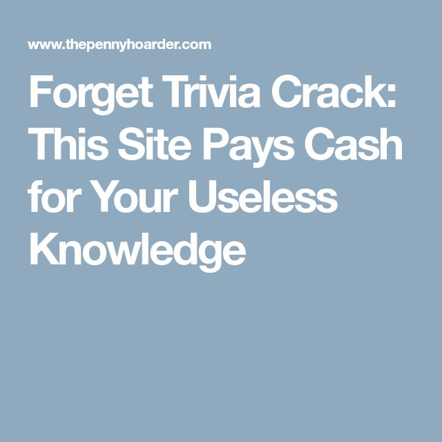 Best 25 trivia ideas on pinterest random facts about for Interesting facts about crack
