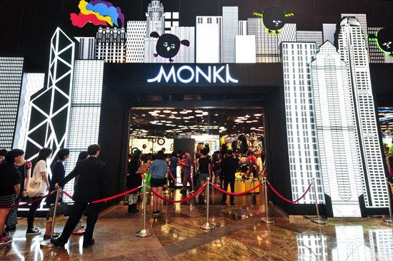 Monki Langham Place, Hong Kong