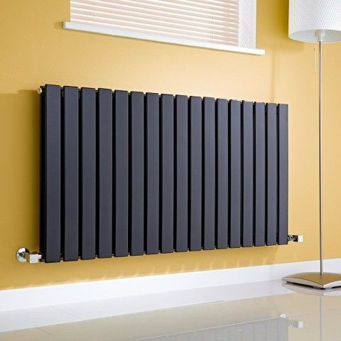 Milano Aruba Luxury Black Horizontal Radiator - http://www.bestheating.com/milano-aruba-luxury-black-horizontal-designer-radiator-635mm-x-1411mm.html