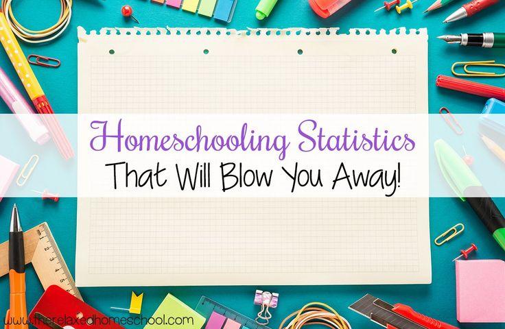 Homeschool Statistics - The Relaxed Homeschool  #homeschooling #HS #HomeEducation