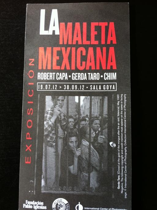¿Sabes qué relación tiene La Maleta Mejicana  con la Guerra Civil Española?