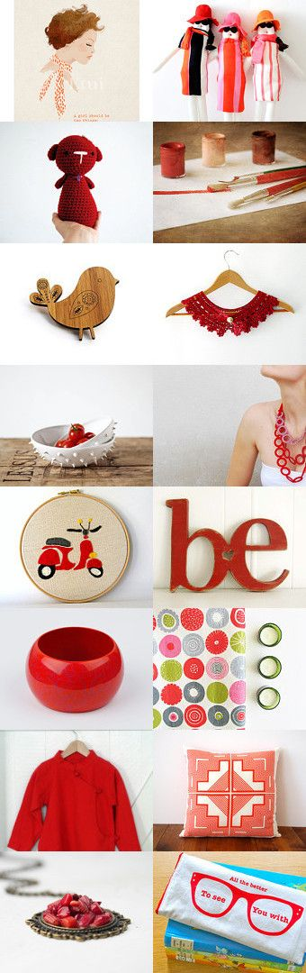 Every Girl by Camilla Agathe Lande Jensen on Etsy--Pinned with TreasuryPin.com