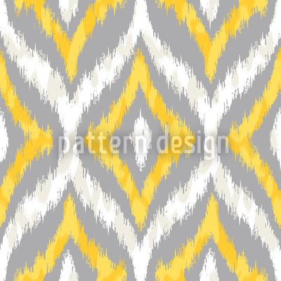Indonesian Ikat pattern designed by Michael Bayquen, available for download on patterndesigns.com