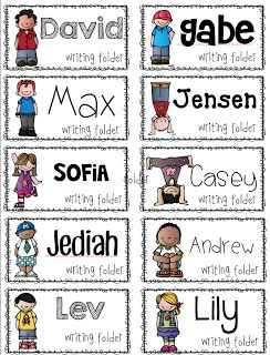 Free {editable} labels for your classroom!