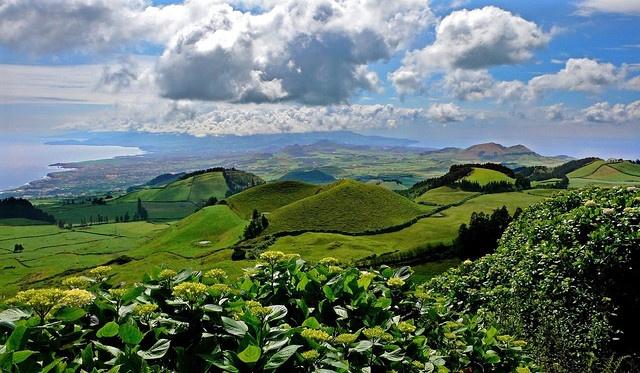 Sao Jorge, Azores Islands, Portugal.
