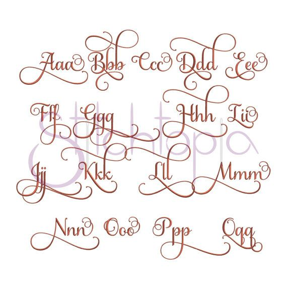 Images about machine embroidery fonts on pinterest