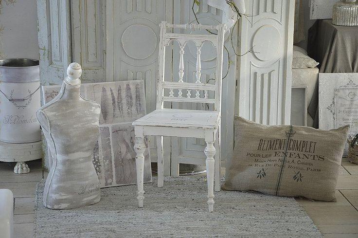 Stühle - ***Wunderschöner antiker Spindelstuhl*** - ein Designerstück von Elflora bei DaWanda