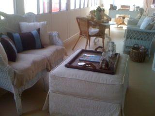 Cottage Sunroom Sitting Area