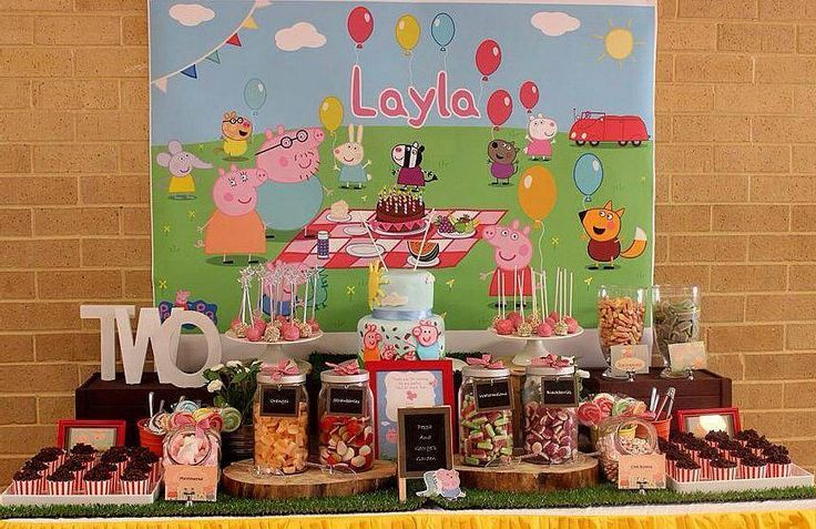Little Wish Parties | Peppa Pig Themed Party | https://littlewishparties.com