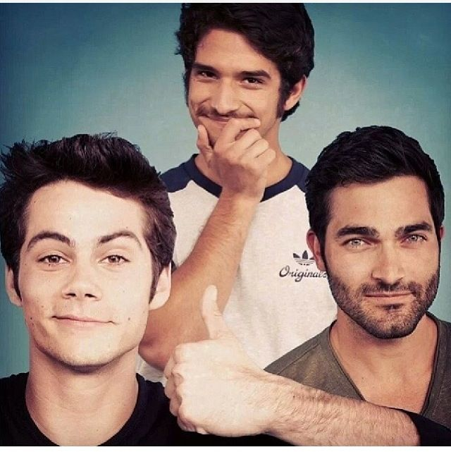 Teen Wolf - Tyler Hoechlin and Dylan O'Brien and Tyler Posey