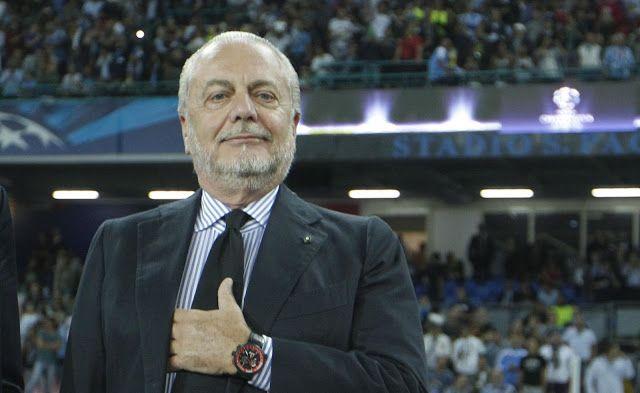 """El presidente del Nápoles le mete """"miedo"""" al Real Madrid"""
