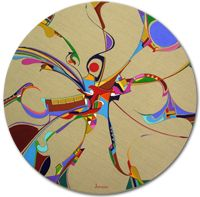 Alex Janvier Aboriginal visual artist l The Official Website (I have drawn much of my abstract artwork inspiration from this wonderful artist!)