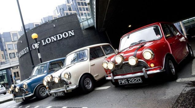 """The 1969 film """"The Italian Job"""" took the Mini to a global audience and sales for the car rocketed. Caine is brilliant in that film: """"you were only supposed to blow the bloody doors off!"""" Classic line from a classic film"""