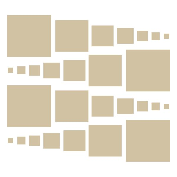 Beige Squares Vinyl Wall Decals #stickers #decals #decalvenue