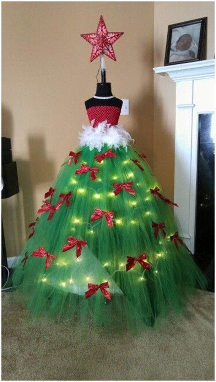 Diy Mannequin Christmas Tree Tutorial Ideas Video Christmas Tree Dress Christmas Tutu Dress Form Christmas Tree