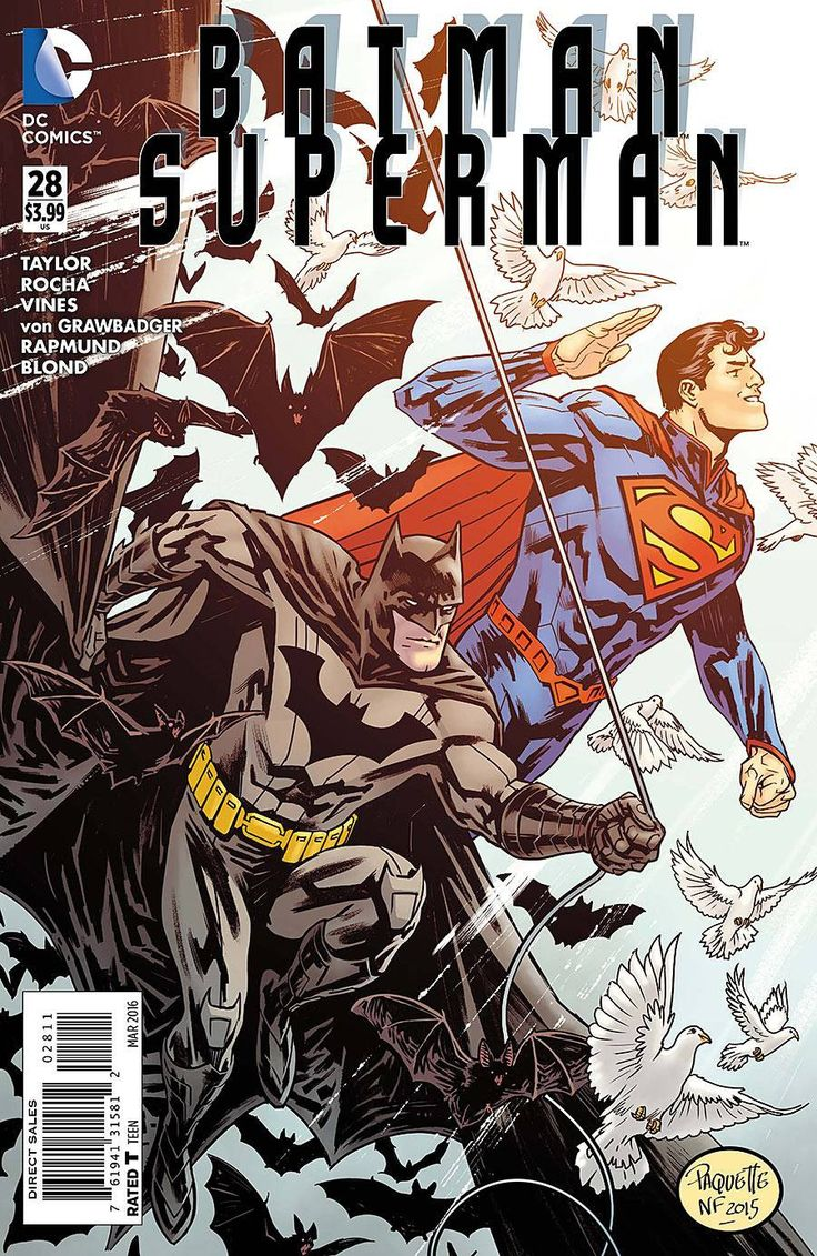 Batman Superman (2013) Issue #28