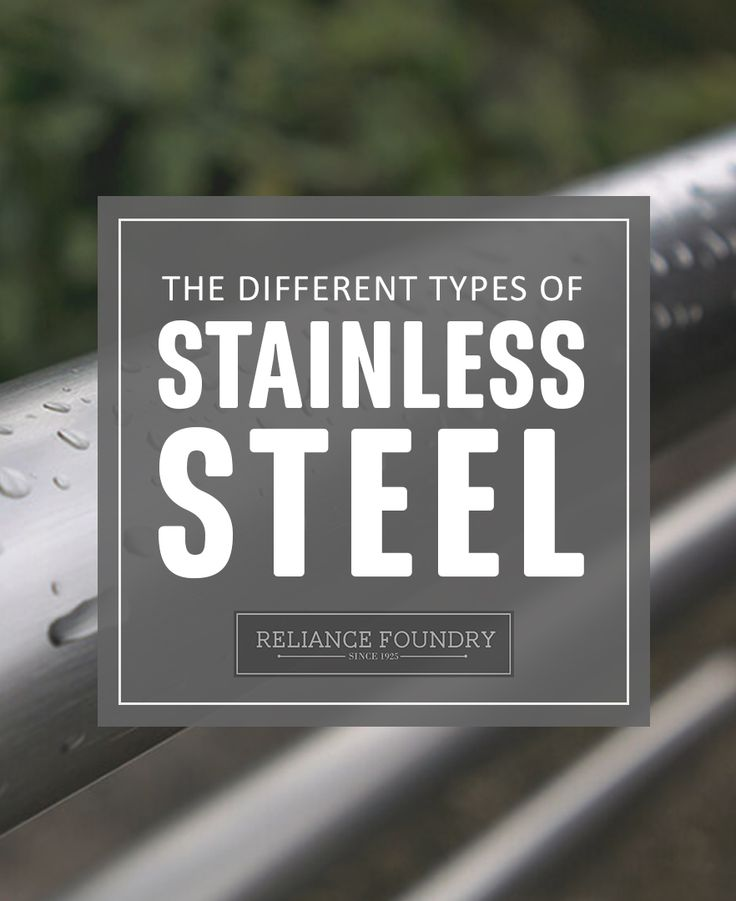 Not all stainless steel is created equal. Learn more about the different types of stainless steel on our blog