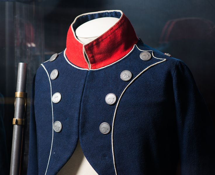 Coat of an officer of the Carbine company of the 1st Line Infantry regiment. France. 1805-1809.