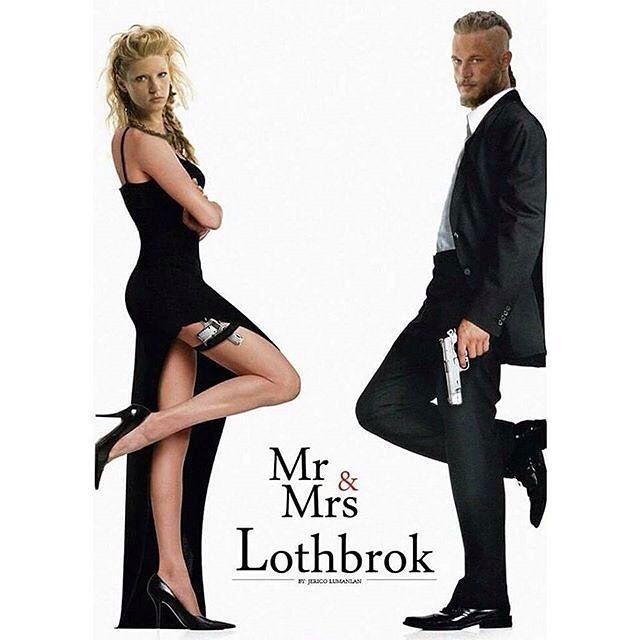 Mr & Mrs Lothbrok