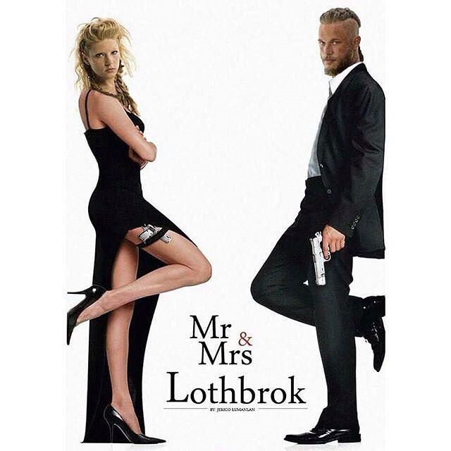 Mr & Mrs Lothbrok