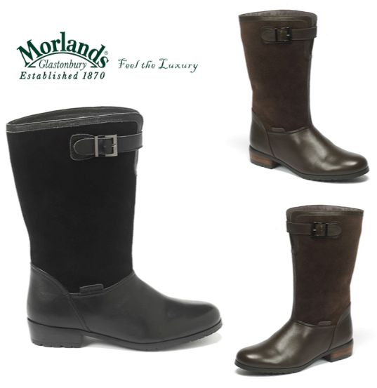 With bad weather reportedly heading our way, keep your feet stylishly dry and warm with our stunning Amy boots.  Shop here: http://www.morlandssheepskin.co.uk/products/ladies-sheepskin-boots/item/amy