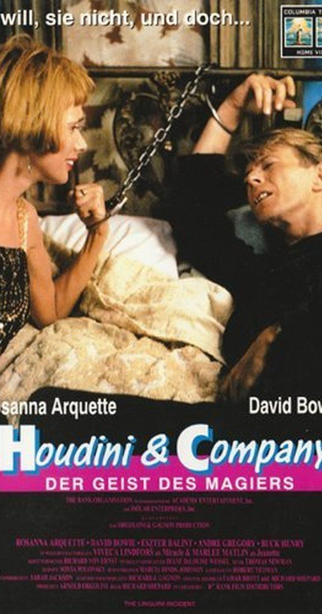 Directed by Richard Shepard.  With Rosanna Arquette, David Bowie, Eszter Balint, Andre Gregory. Two disgruntled restaurant employees (David Bowie, Rosanna Arquette) decide to rob their employers (Buck Henry, Andre Gregory).