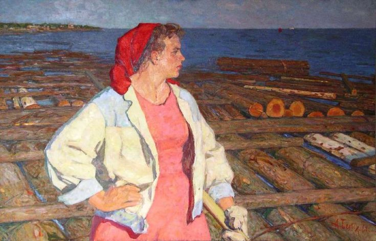 Волжанка, 1961г. - Белых Алексей Павлович