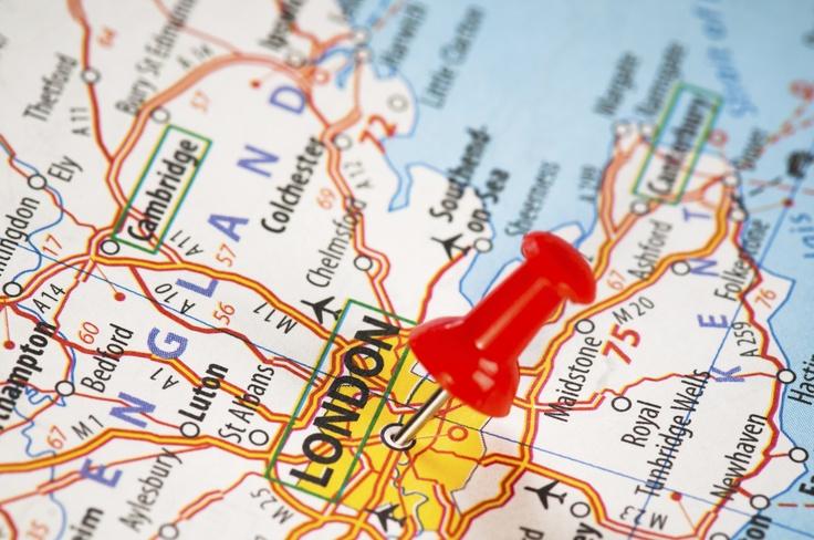 map punaise london