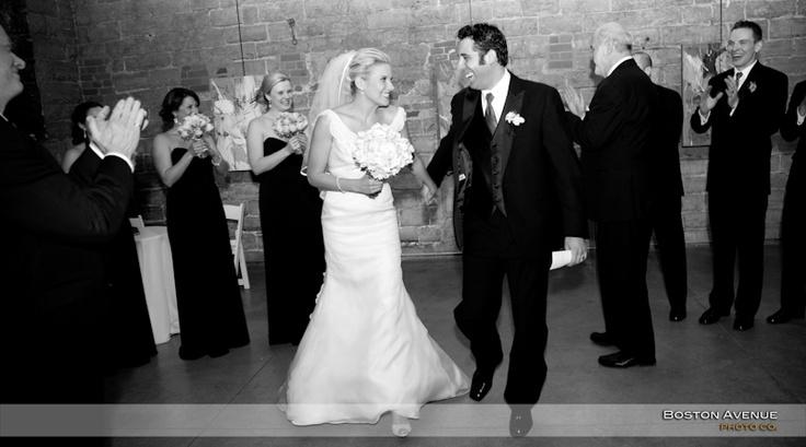 Boiler House wedding ceremony