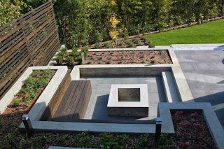 A great garden design in Hungary by BorókArt landscape architect studio