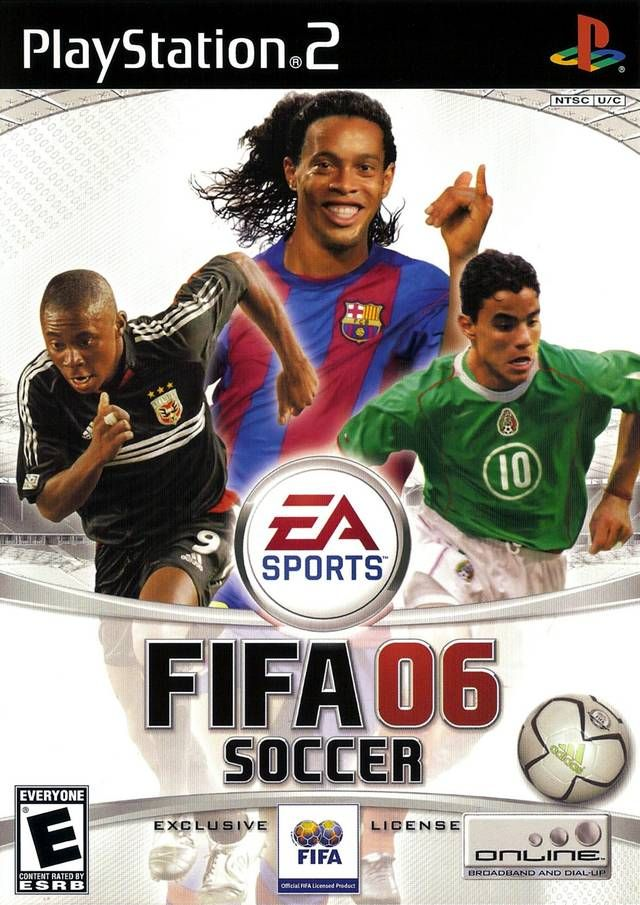Fifa 2006 Sony Playstation 2 Game Fifa 2006 Fifa Soccer Video Games