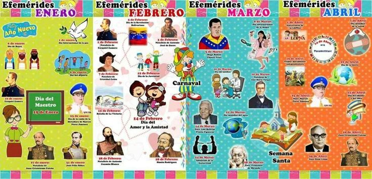 efemerides de enero en venezuela 2016 - Buscar con Google