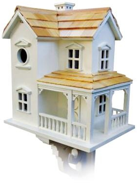 Cozy Two-Story Farmhouse Bird House