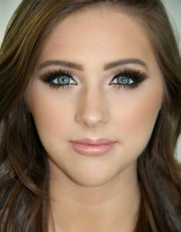 Wedding Eye Makeup Suggestions : 20 Beautiful Wedding Makeup Ideas from Pinterest Makeup ...