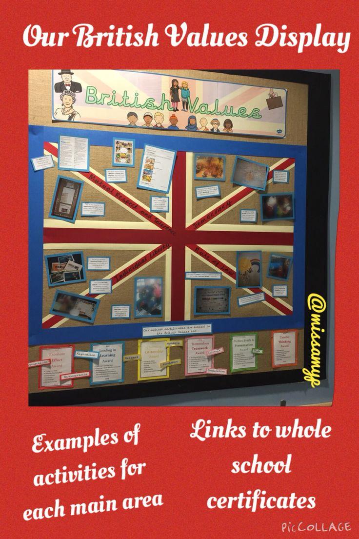 Our British Values display (missamyp)