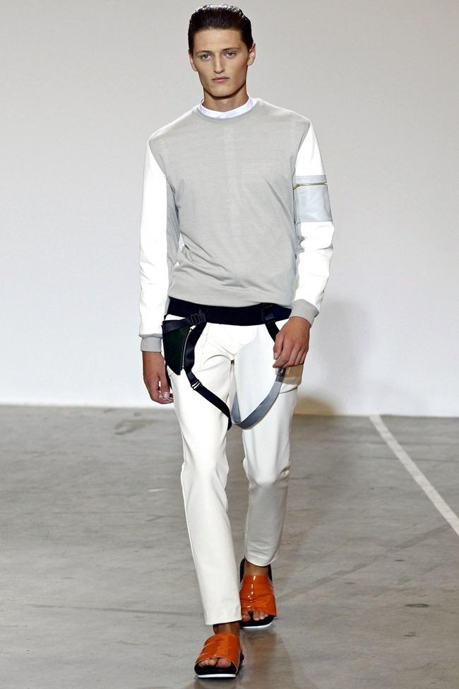 Tim Coppens Menswear Spring 2013