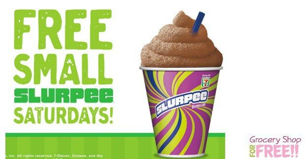 FREE Slurpee At 7-11 TODAY!