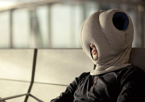 Ostrich Pillow Hat Lets you Sleep Anywhere | My Disguises - We Love Costumes