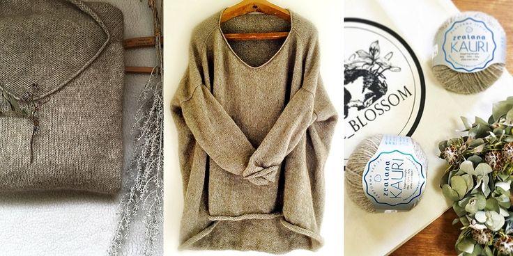 Вязаный женский пуловер оверсайз спицами Igawa от дизайнера Junko Okamoto. Стильный и актуальный пуловер оверсайз должен быть в гардеробе каждой женщины. Такой дизайн согреет вас своим объемом и уютом. Модель подойдет для начинающих вязальщиц, так как его легок и просто вязать спицами.