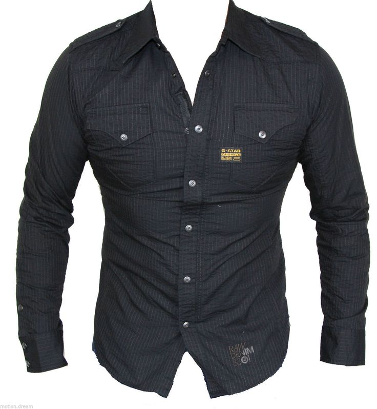 "G Star Raw Men's Midnight Casual Shirt Size M ""Brand New"" | eBay"