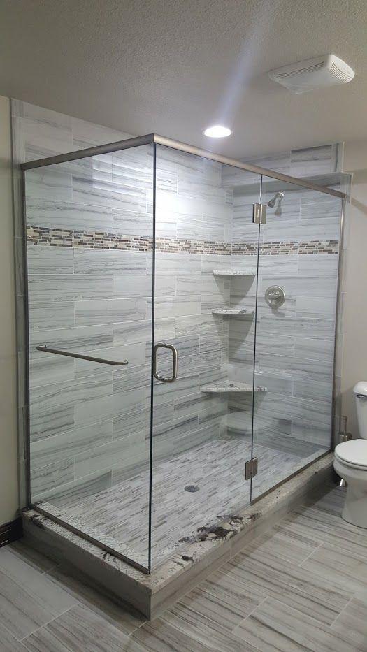 Shower Door Installation Decorative Glass In Des Moines